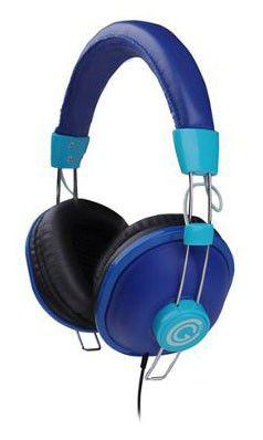 Наушники с микрофоном G-CUBE GHS-170BL,  мониторы, синий