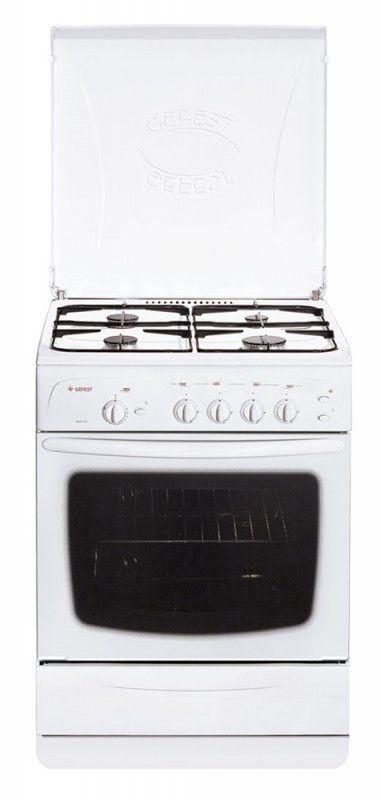 Газовая плита ГЕФЕСТ 1200 С4,  газовая духовка,  белый [пг 1200 с4]