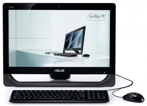 Моноблок ASUS ET2011EGT, Intel Pentium E5800, 4Гб, 500Гб, ATI Radeon HD 5470 - 512 Мб, DVD-RW, Windows 7 Home Premium, черный [90pe3qz24224e61b9c0c]