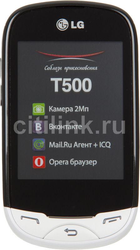 Мобильный телефон LG T500  белый