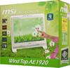 Моноблок MSI AE1920-207, Intel Atom D525, 2Гб, 250Гб, Intel GMA 3150, DVD-RW, Windows 7 Home Premium, белый [9s6a92313207] вид 12