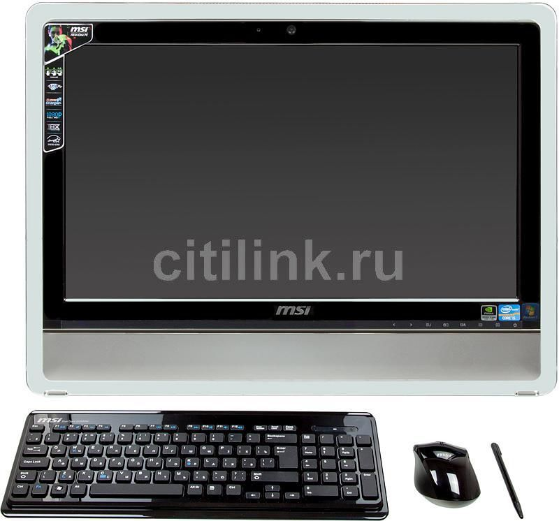 Моноблок MSI AE2410, Intel Core i5 2410M, 4Гб, 1000Гб, nVIDIA GeForce GT540M - 1024 Мб, DVD-RW, Windows 7 Home Premium, черный [9s6ae3211019]