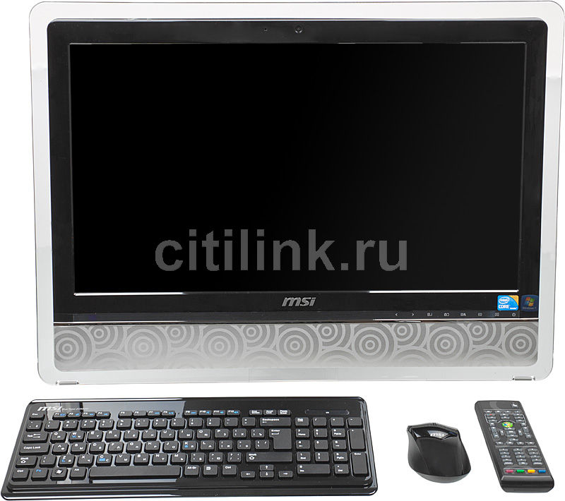 Моноблок MSI AE2420 3D, Intel Core i5 650, 4Гб, 1Тб, ATI Radeon HD 5630 - 1024 Мб, Blu-Ray, Windows 7 Home Premium, черный и серебристый [9s6ae3111207]