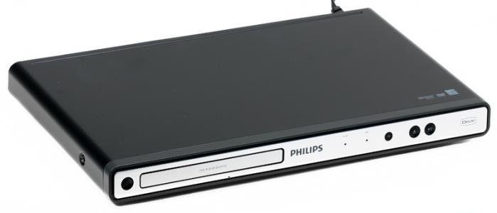 DVD-плеер PHILIPS DVP3111SL/51,  серебристый
