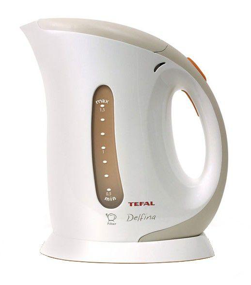 Чайник электрический TEFAL BE5310, 2200Вт, белый