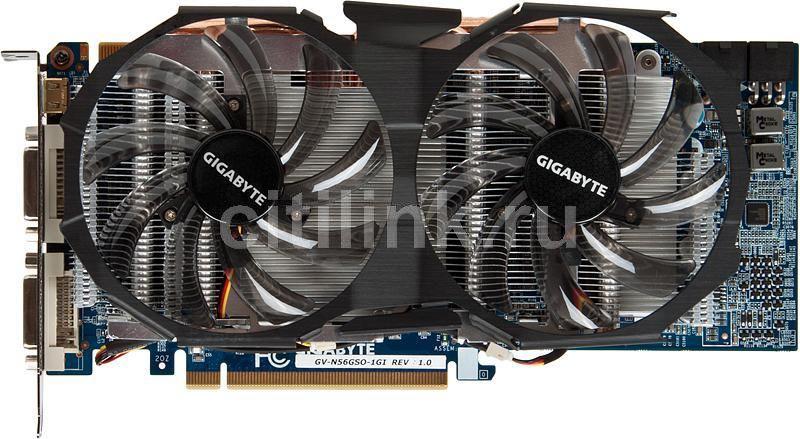 Видеокарта GIGABYTE GeForce GTX 560,  1Гб, GDDR5, Ret [gv-n56gso-1gi]