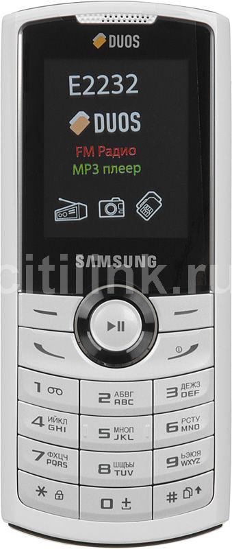 Мобильный телефон SAMSUNG GT-E2232  белый