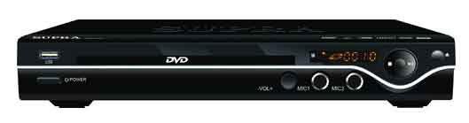 DVD-плеер SUPRA DVS-015X,  черный