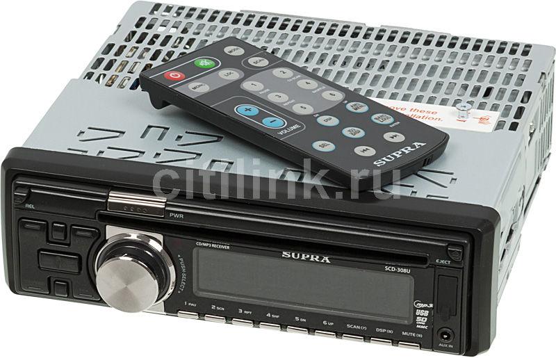 Автомагнитола SUPRA SCD-308U,  USB,  SD/MMC
