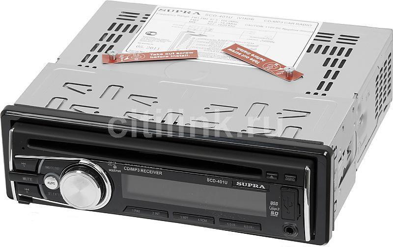 Автомагнитола SUPRA SCD-401U,  USB,  SD/MMC