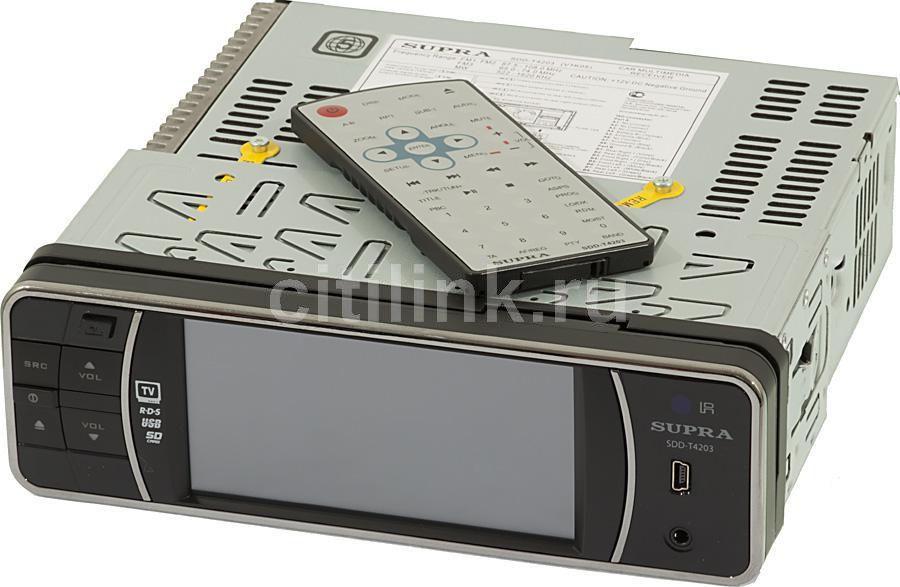 Автомагнитола SUPRA SDD-T4203,  USB,  SD/MMC