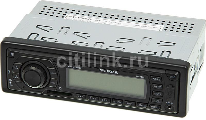 Автомагнитола SUPRA SFD-101U,  USB,  SD/MMC