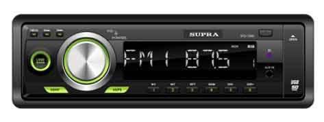 Автомагнитола SUPRA SFD-109U,  USB,  SD/MMC
