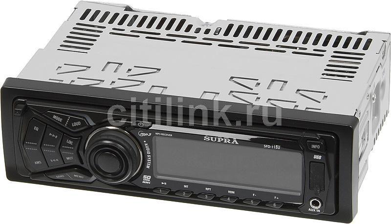 Автомагнитола SUPRA SFD-115U,  USB,  SD/MMC