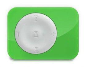 MP3 плеер EXPLAY X1 flash 8Гб белый/зеленый [x1 8gb w/g]