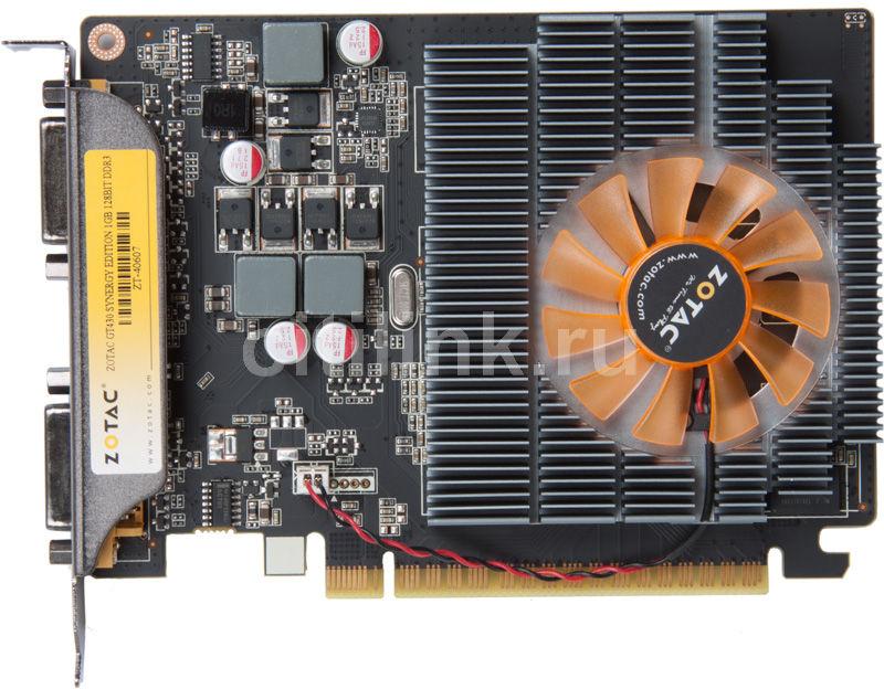 Видеокарта ZOTAC GeForce GT 430,  1Гб, DDR3, Ret [zt-40607-10l]