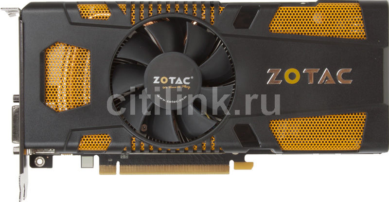 Видеокарта ZOTAC GeForce GTX 570 AMP! Edition, ZT-50204-10M,  1.3Гб, GDDR5, OC,  Ret