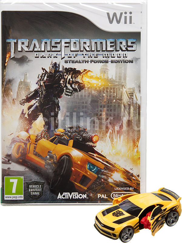 Игра NINTENDO Transformers: Dark of the Moon Stealth Force Edition для  Wii Eng