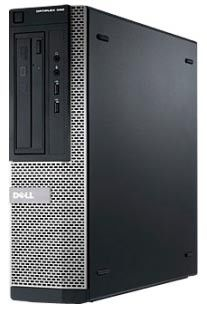 DELL Optiplex 390,  Intel  Core i5  2400,  DDR3 2Гб, 500Гб,  Intel HD Graphics,  DVD-RW,  Free DOS,  черный и серебристый [x043900106r]
