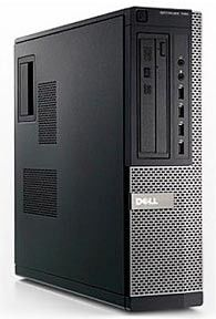 Компьютер  DELL Optiplex 790 SF,  Intel  Core i5  2400,  DDR3 4Гб, 500Гб,  Intel HD Graphics 2000,  DVD-RW,  Windows 7 Professional,  черный и серебристый [x037900110r]