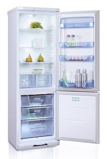 Холодильник БИРЮСА 127L,  двухкамерный,  белый