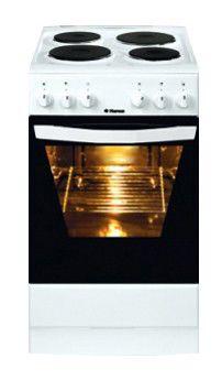 Электрическая плита HANSA FCEW57002030,  эмаль,  белый