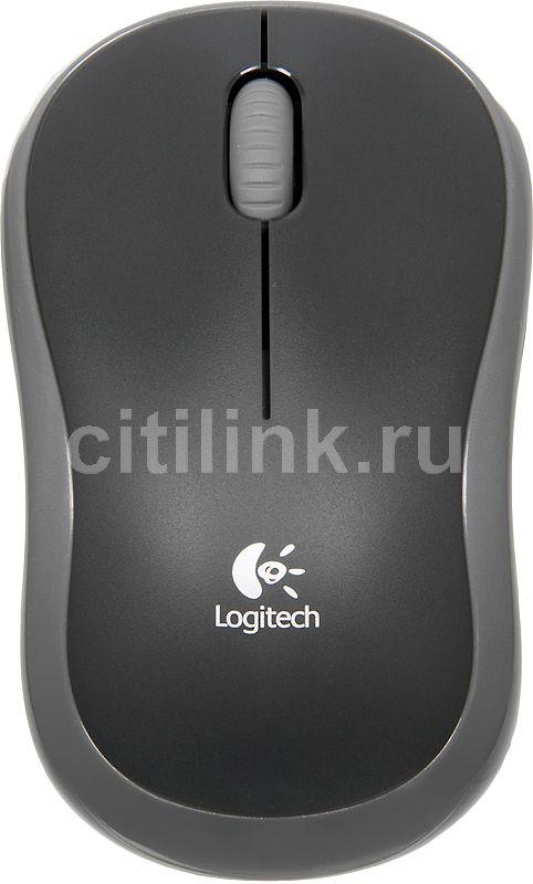 Купить Мышь LOGITECH M185 USB, серый по выгодной цене в интернет-магазине СИТИЛИНК