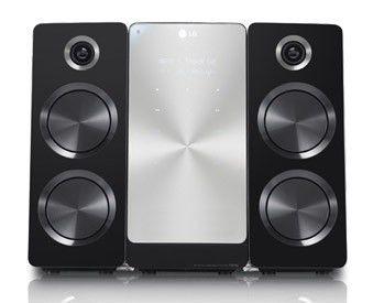 Музыкальный центр LG FB166,  черный