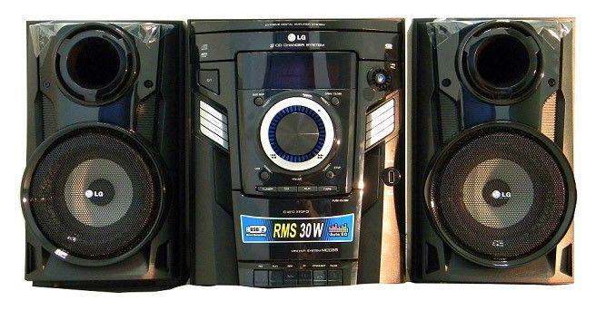 Музыкальный центр LG MCD-35,  черный