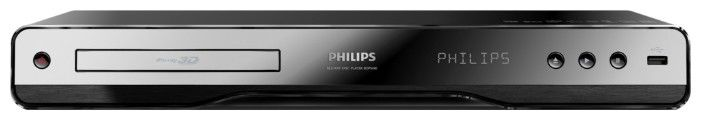 Плеер Blu-ray PHILIPS BDP5180/51, черный