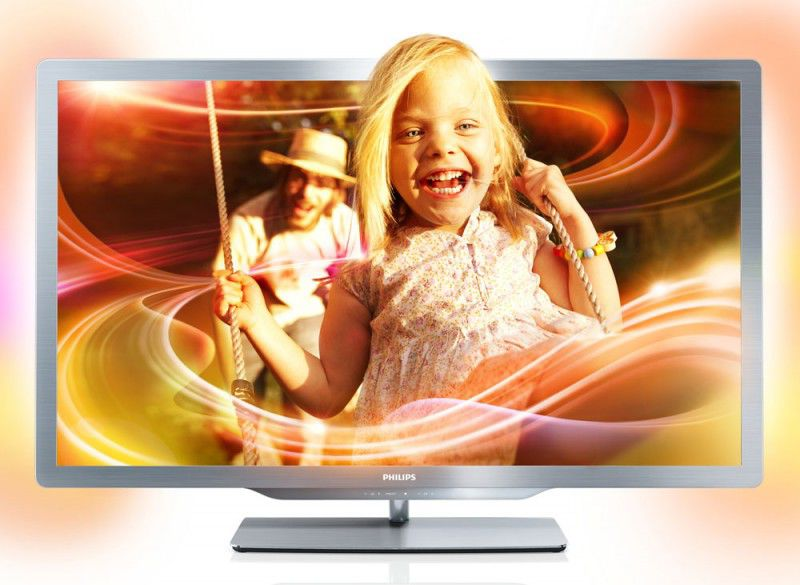 "LED телевизор PHILIPS 42PFL7606H/60  ""R"", 42"", 3D,  FULL HD (1080p),  серый"