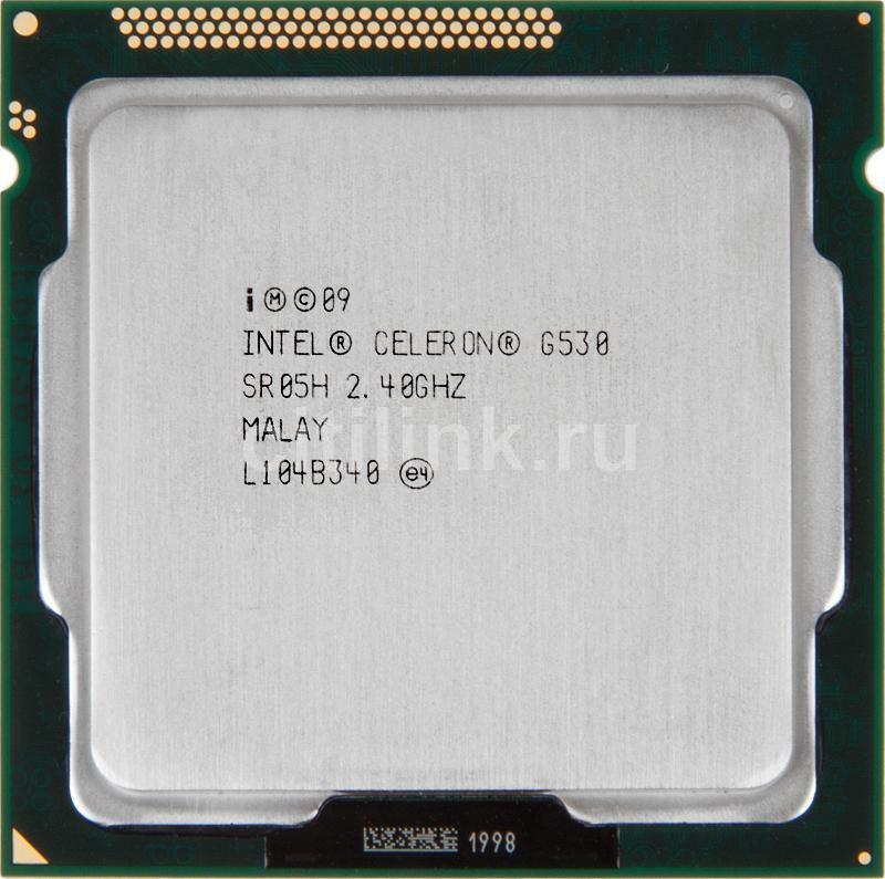 Процессор INTEL Celeron G530, LGA 1155 OEM [cm8062301046704s r05h]