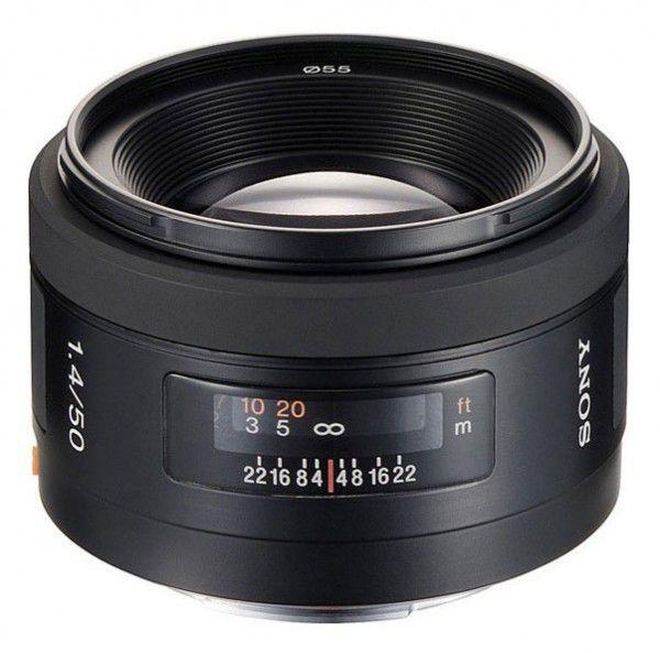 Объектив SONY 50mm f/1.4 SAL-50F14, Minolta A [sal50f14.ae]