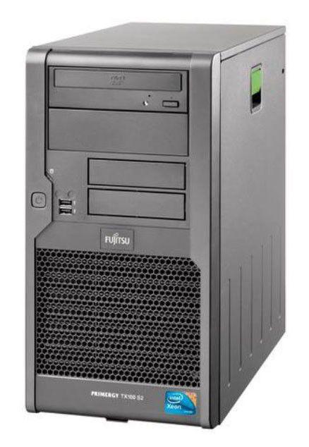 Сервер Fujitsu TX100S2 4xLFF X X3430 2x 2GB 2x HD SATA 500GB NO POWERCORD (VFY:T1002SX030IN)