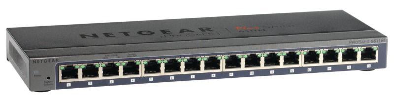 Коммутатор NETGEAR ProSafe GS116E-100PES, GS116E-100PES