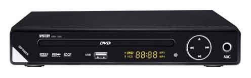 DVD-плеер MYSTERY MDV-726U,  черный