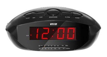 Радиобудильник MYSTERY MCR-47, черный