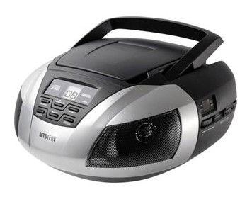 Аудиомагнитола MYSTERY BM-6101,  серый
