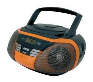 Аудиомагнитола MYSTERY BM-6103,  оранжевый и черный