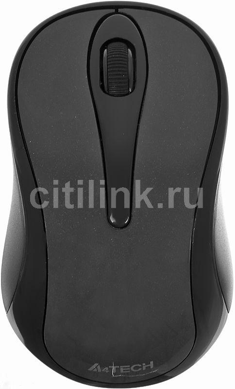 Мышь A4 V-Track Padless G7-350N-1 оптическая беспроводная USB, черный