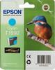 Картридж EPSON C13T15924010 голубой вид 1