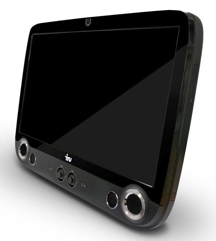 Моноблок IRU 301, Intel Core i3 370M, 2Гб, 320Гб, Intel HD Graphics, DVD-RW, MeeGo, черный