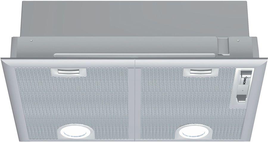 Вытяжка встраиваемая Bosch DHL545S серебристый управление: ползунковое (2 мотора)