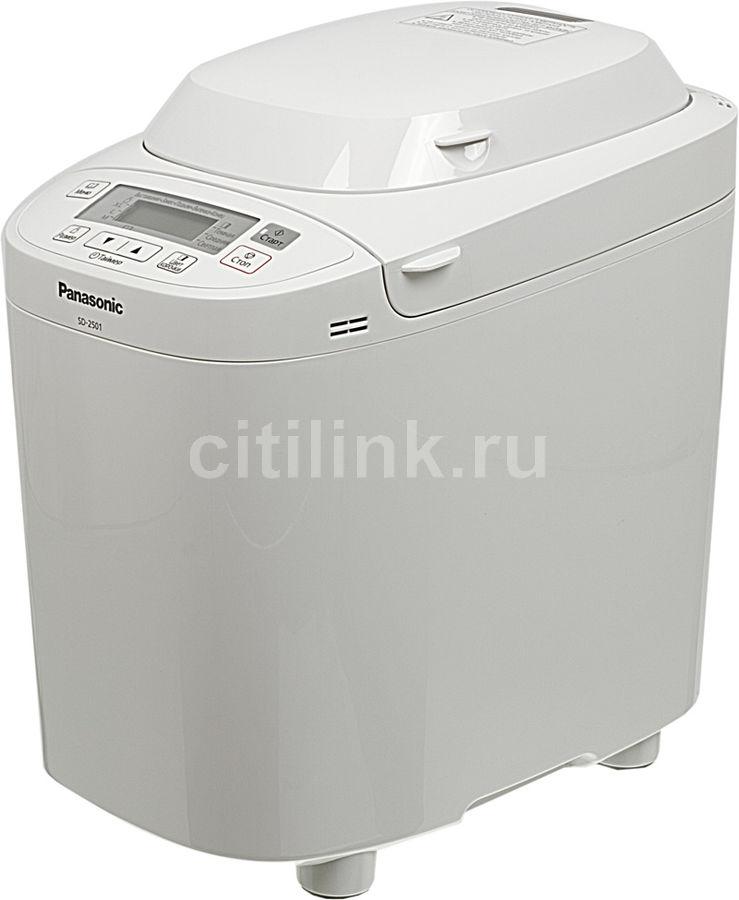 Хлебопечь PANASONIC SD-2501WTS,  белый