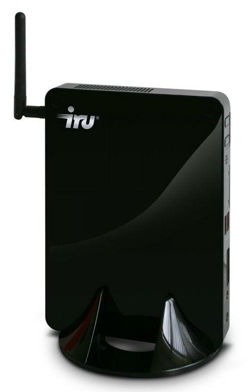 Неттоп  IRU 115,  Intel  Atom  D525,  DDR3 2Гб, 320Гб,  Intel GMA 3150,  CR,  Windows 7 Starter,  черный