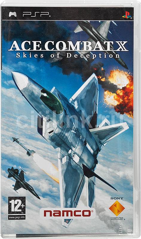 Игра SONY Ace Combat X: Skies of Deception для  PSP Eng