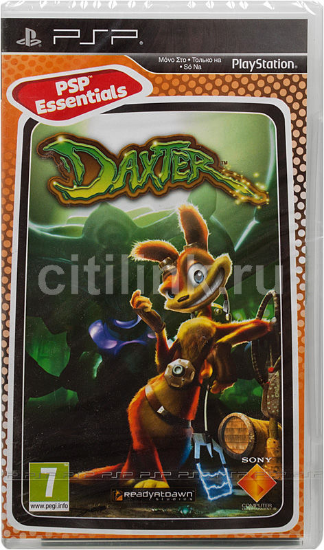 Игра SOFT CLUB Daxter (Essentials) для  PSP Rus