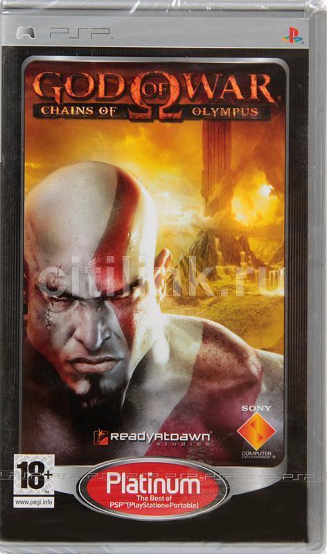 Игра SONY God of War: Chains of Olympus (Platinum) для  PSP Eng