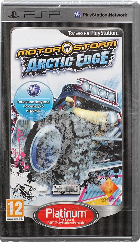 Игра SONY MotorStorm: Arctic Edge (Platinum) для  PSP Rus