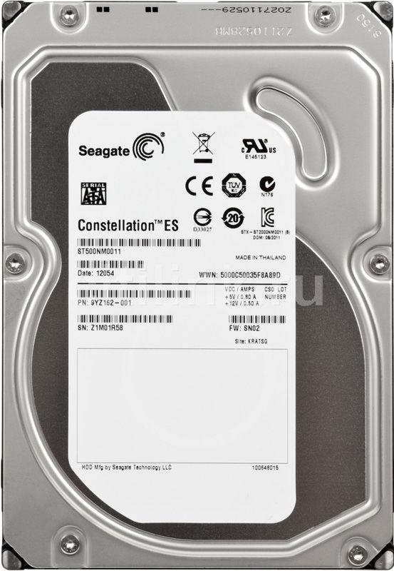 Жесткий диск SEAGATE Constellation ES ST500NM0011,  500Гб,  HDD,  SATA III,  3.5